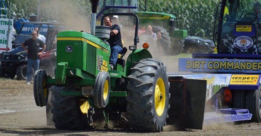 tir de tracteur