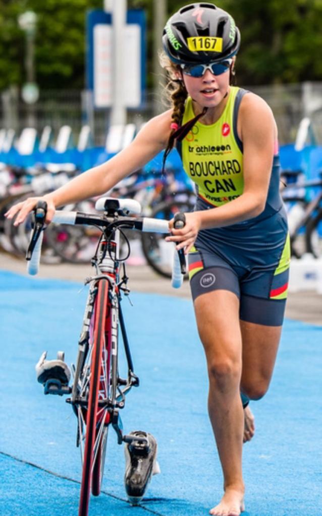 Rosaly bouchard triathlon