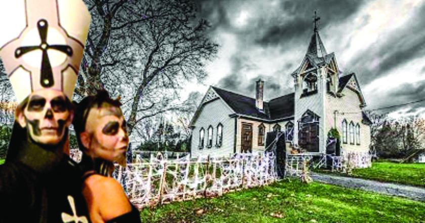 Halloween à l'église hantée