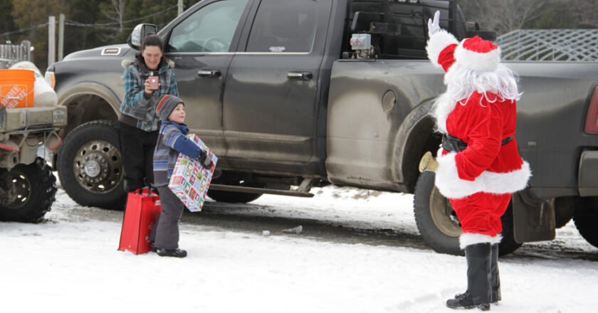 Le père Noël est à Chartierville