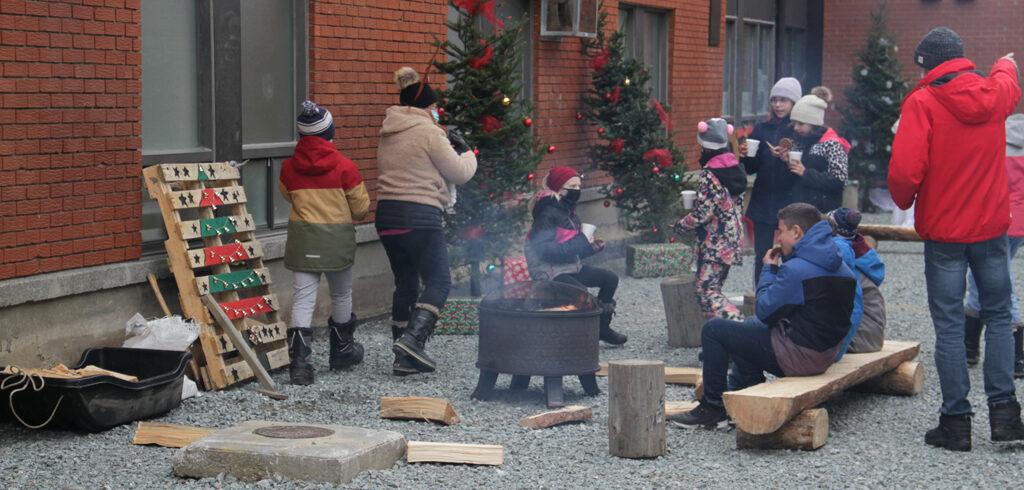 Noël à l'école Source-Vive d'Ascot Corner