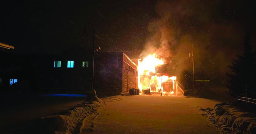 Incendie du IGA Cookshire-Eaton