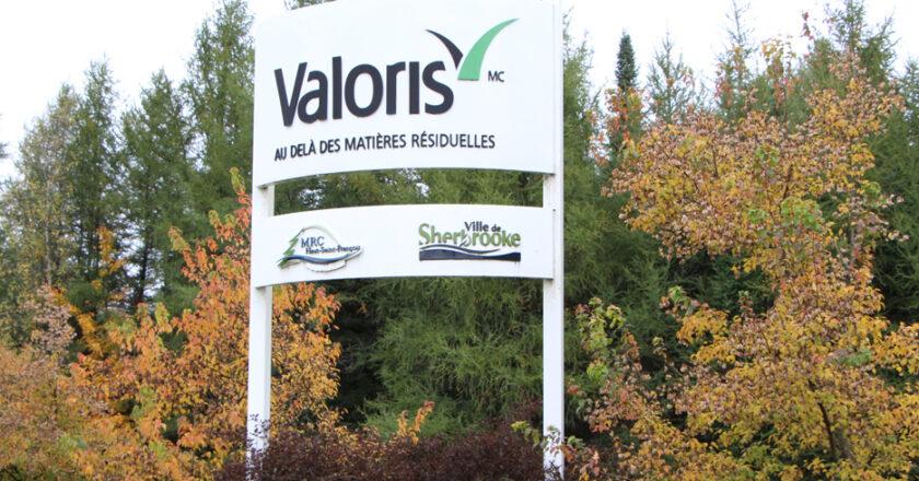Régie intermunicipale du centre de valorisation des matières résiduelles du Haut-Saint-François et de Sherbrooke (Valoris)