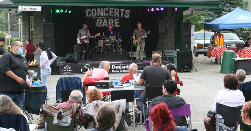Concerts de la Gare de East Angus