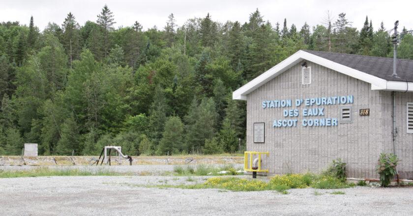 Station epuration des eaux de Ascot Corner HSF