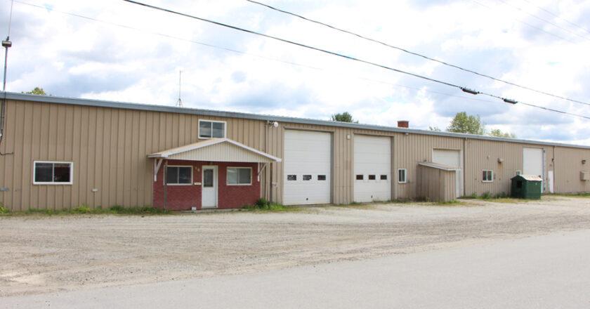 Garage municipal de East Angus
