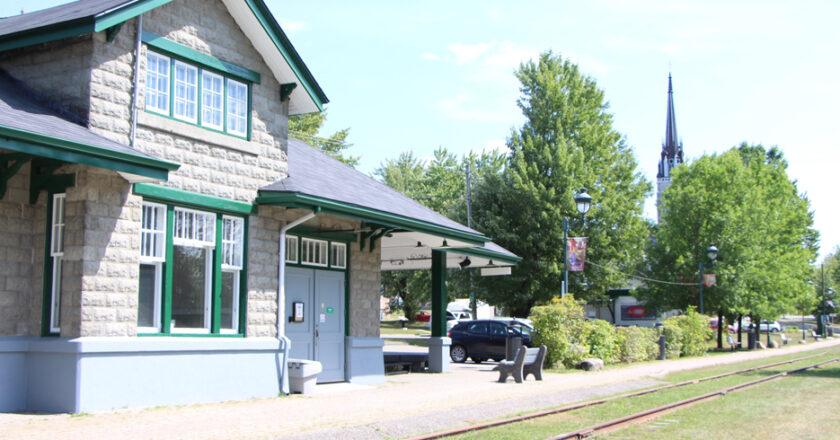 La vieille gare de East Angus