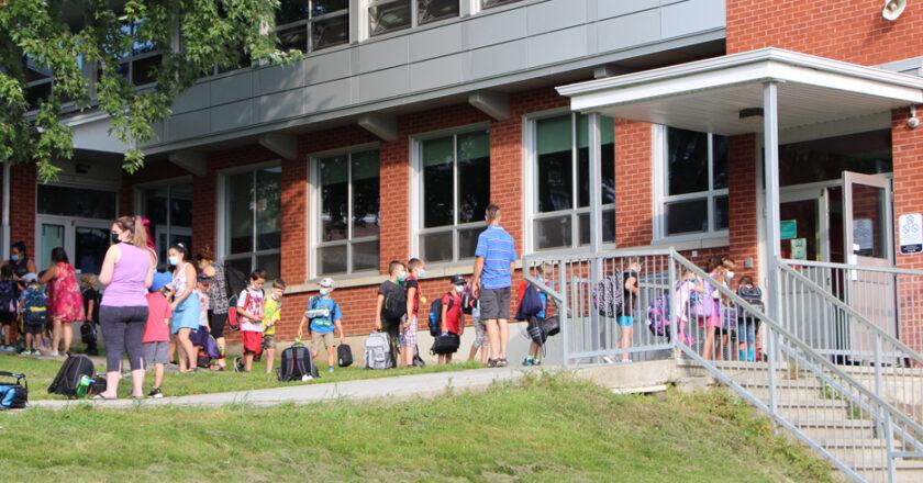Rentrée scolaire à Cookshire-Eaton